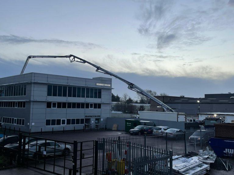 Basildon Concrete Delivery + Boom Pump